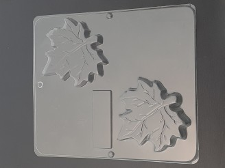 016 Large Maple Leaves Chocolate Candy Mold  LAST ONE!