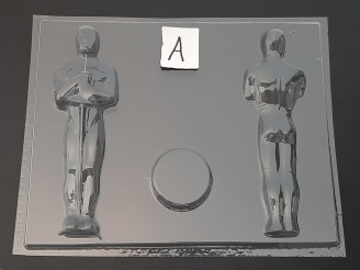 113sp Award 3D Chocolate Candy Mold FACTORY SECOND