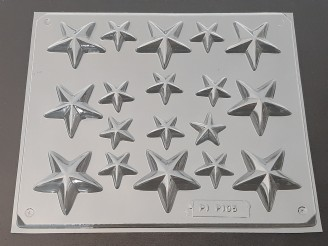 P105 Stars Chocolate Candy Mold  LAST ONE!