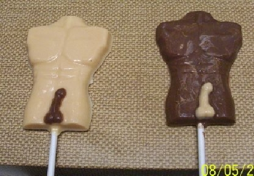 Penis chocolate molds