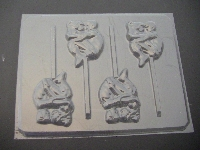 136x Couple Cuddling Chocolate Lollipop Mold