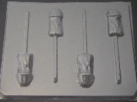 113x Shorty Penis Chocolate or Hard Candy Lollipop Mold
