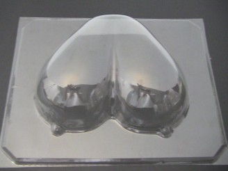 254xl Large Boobs Oversized Chocolate Candy Mold