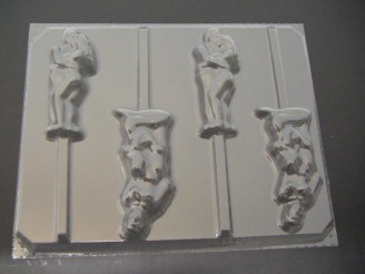 258x Blow Job Kissing Couple Chocolate or Hard Candy Lollipop Mold