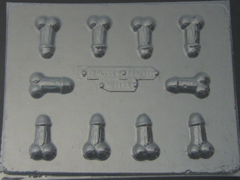 115x Bite Size Penis Chocolate Candy Mold