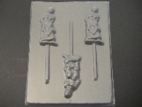 117x Blow Job Chocolate or Hard Candy Lollipop Mold