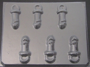 139x Penis Pacifier Chocolate Candy Mold