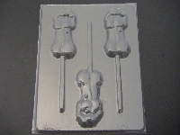 146x Drippy Penis Chocolate Candy Lollipop Mold