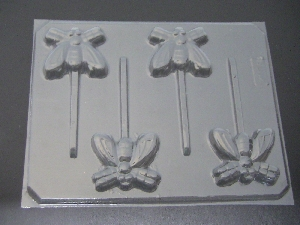 1301 Fly Chocolate or Hard Candy Lollipop Mold