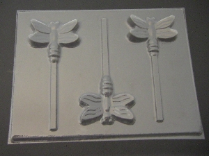 1315 Dragonfly Chocolate or Hard Candy Lollipop Mold