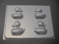 606 Ducks 3D Chocolate Candy Mold