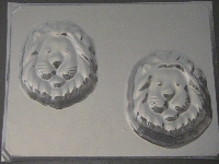 612 Lion Face Soap or Chocolate Candy Mold