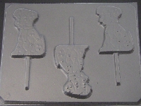 615 101 Dalmatians Chocolate or Hard Candy Lollipop Mold