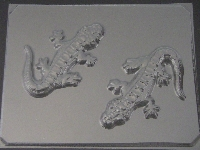 629 Iguana Lizard Chocolate Candy Mold