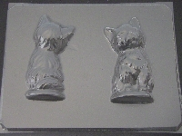 640 Cat 3D Chocolate Candy Mold