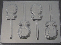 643 Lion Chocolate or Hard Candy Lollipop Mold
