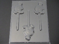 648 Turtle Chocolate Candy Lollipop Mold