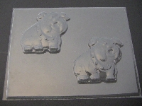 660 Bulldog Dog Chocolate Candy or Soap Mold