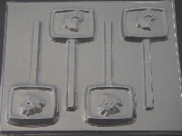 669 Elk Bar Chocolate or Hard Candy Lollipop Mold