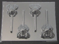 678 Spider Chocolate or Hard Candy Lollipop Mold