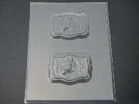 665 Horse Chocolate Candy or Soap Bar Mold