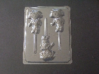 181sp Dorie the Explorer Chocolate or Hard Candy Lollipop Mold
