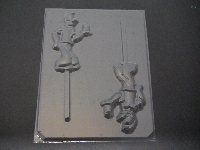 184sp Sailor Man Chocolate or Hard Candy Lollipop Mold