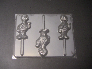 191sp Yellow Chicken Chocolate or Hard Candy Lollipop Mold