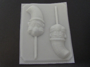 198sp Cat In A Cat Chocolate or Hard Candy Lollipop Mold