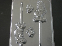 200sp Male and Female Duck Chocolate or Hard Candy Lollipop Mold