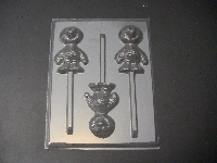 297sp Baby Yellow Chicken Chocolate or Hard Candy Lollipop Mold