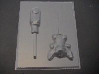 309sp Hawaiian Girl and Friend Chocolate or Hard Candy Lollipop Mold
