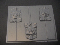 333sp Tom Train Engine Chocolate or Hard Candy Lollipop Mold