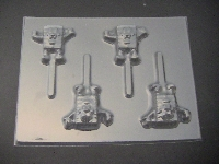 337sp Wet Robert II Chocolate or Hard Candy Lollipop Mold