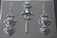 340sp Prairie Evening Full Body Chocolate or Hard Candy Lollipop Mold