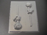350sp Alien Terrestrial Torso Chocolate Lollipop Mold