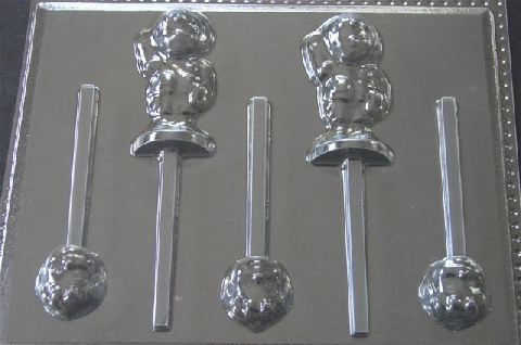 361sp Dorie Friend Chocolate or Hard Candy Lollipop Mold