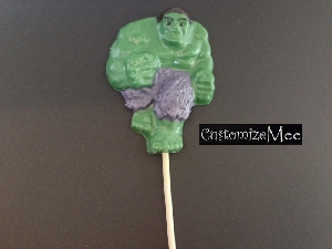 375sp Hunky Man Full Body Chocolate or Hard Candy Lollipop Mold