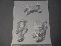 416sp Woodsman Large Chocolate Candy Mold