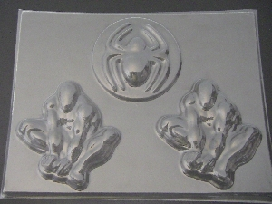 417sp Spider Dude Large Chocolate Candy Mold