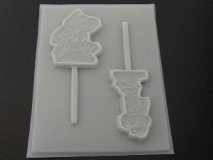 441sp Mario and Friend Chocolate or Hard Candy Lollipop Mold