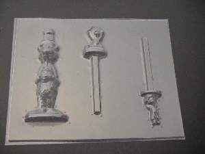 443sp Cat Hat Things Chocolate Candy Mold