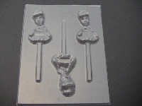 448sp Princess Cindy Torso Chocolate or Hard Candy Lollipop Mold