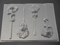 532sp Bugs Life Chocolate or Hard Candy Lollipop Mold