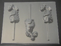537sp Petey Dragon Chocolate or Hard Candy Lollipop Mold