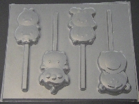 544sp Tsum Tsum Chocolate Candy Lollipop Mold