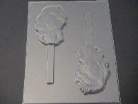 545sp Princess Sofie Face Chocolate or Hard Candy Lollipop Mold