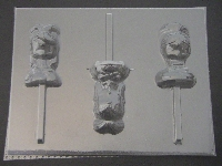 554sp Glimmer and Glisten Chocolate Candy Lollipop Mold