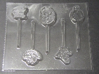 560sp Alice in Wonderland Chocolate Candy Lollipop Mold