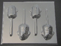 567sp Hi Doggie Chocolate Candy Lollipop Mold